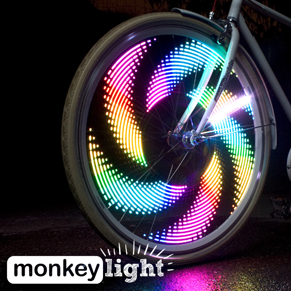 Buy It Now: Monkey Light Bike Lights