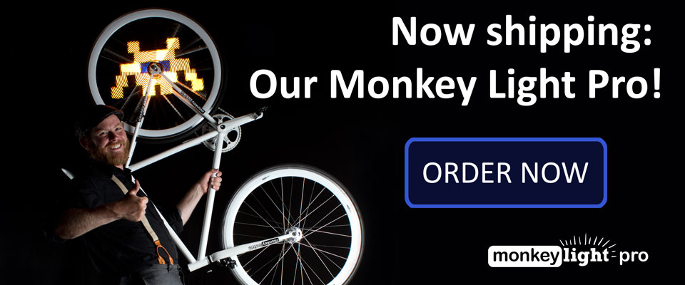 Now Shipping: Our Monkey Light Pro