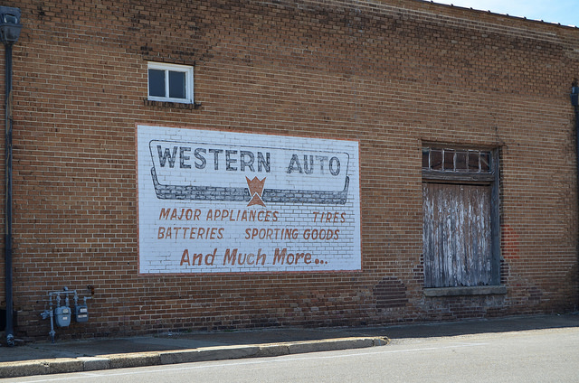 """""""Western Auto Sign"""" by James Case"""