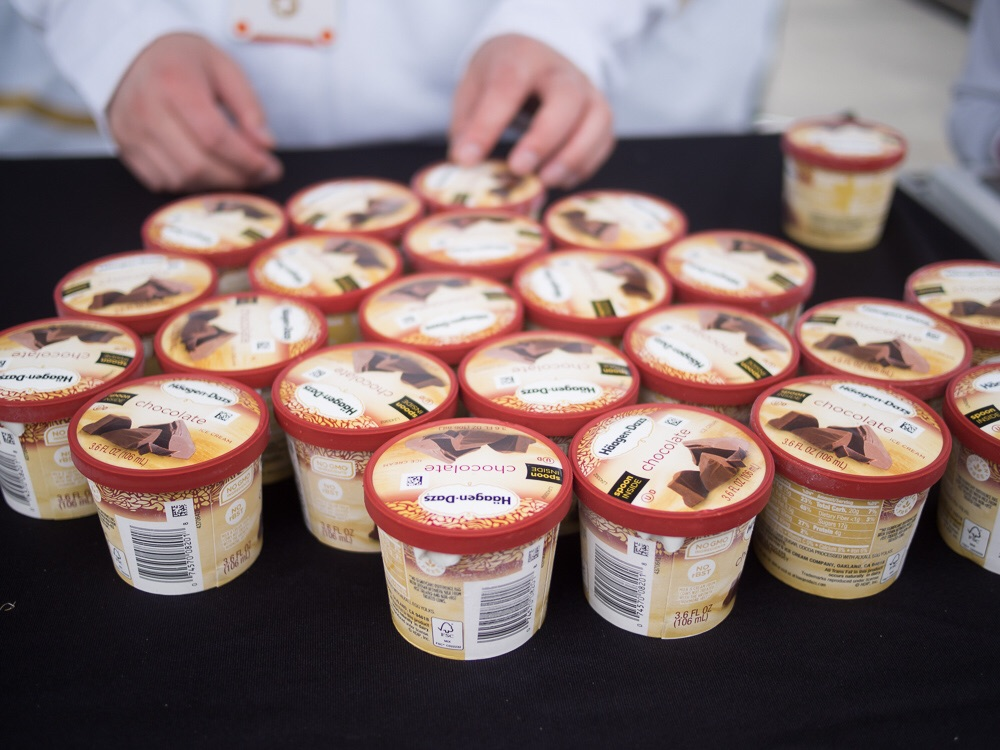 Haagen Dazs at Maker Faire 2016