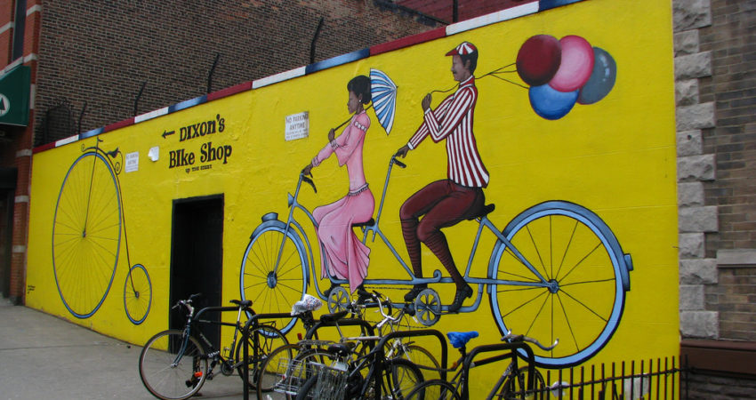 Dixon's Bike Shop Mural by Catherine (_cck_) on Flickr