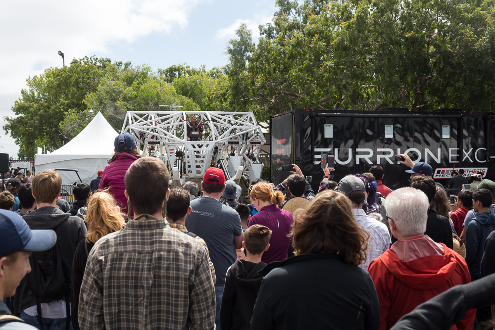 Maker Faire 2018: The Furrion Mech