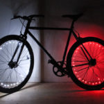 Win a pair of NLX1 bike wheel lights to keep you super-visible!