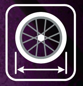 Wheel Fit Icon