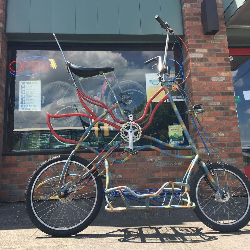 TallBike at Tomcat Bikes PDX